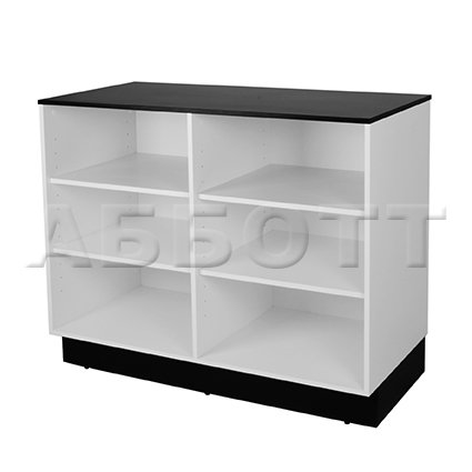 Open drawer unit