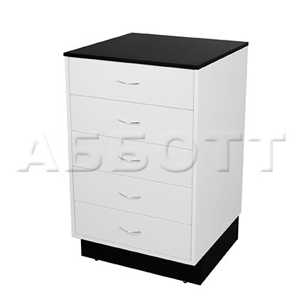 Drawer cabinet with 5 drawers