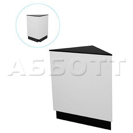 Corner drawer unit